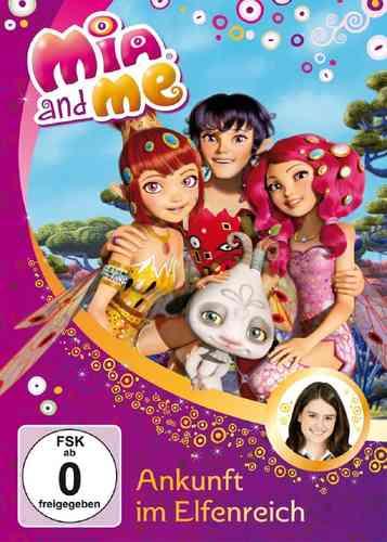 DVD Mia and Me 01  1 Ankunft Im Elfenreich  TV-Serie 01+02 OVP & NEU