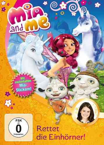 DVD Mia and Me 12 Rettet die Einhörner  TV-Serie 23+24 OVP & NEU