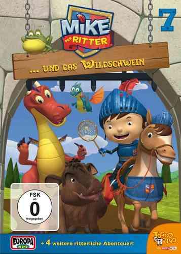 DVD Mike, der Ritter 07  7 und das Wildschwein  TV-Serie 5 Episode OVP & NEU
