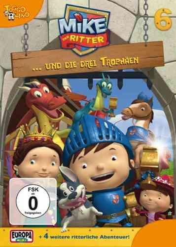 DVD Mike, der Ritter 06  6 Mike und die drei Trophäen  TV-Serie 5 Episode OVP & NEU