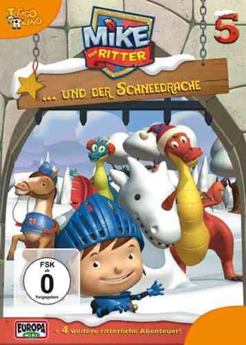 DVD Mike, der Ritter 05  5 Mike und der Schneedrache  TV-Serie 5 Episode OVP & NEU