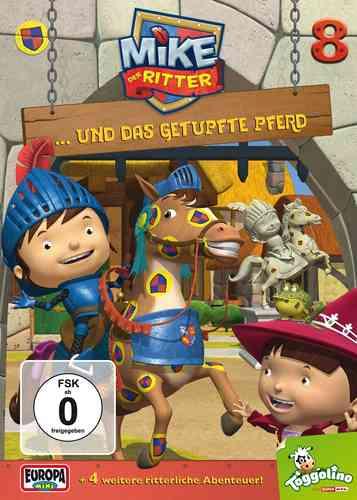 DVD Mike, der Ritter 08  8 und das getupfte Pferd  TV-Serie 5 Episode OVP & NEU