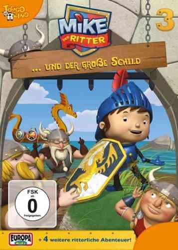 DVD Mike, der Ritter 03  3 Mike und der große Schild  TV-Serie 5 Episode OVP & NEU