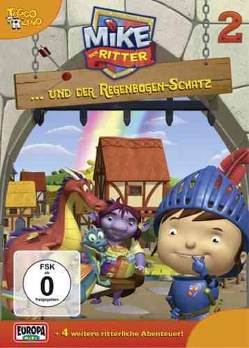 DVD Mike, der Ritter  02 2 und der Regenbogen-Schatz  TV-Serie 5 Episode OVP & NEU