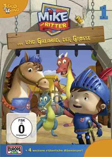 DVD Mike, der Ritter 01  1 und Galahad, der Große  TV-Serie 5 Episode OVP & NEU