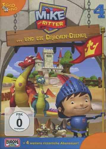 DVD Mike, der Ritter 04  4 Mike und die Drachen-Diener TV-Serie 5 Episode OVP & NEU