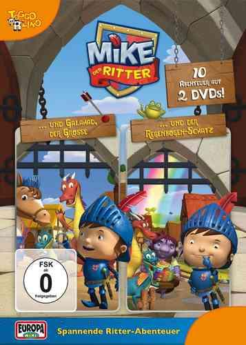 DVD Mike, der Ritter  Doppelbox Folge 1 + 2 2x DVDs in Box  TV-Serie 10 Episode OVP & NEU