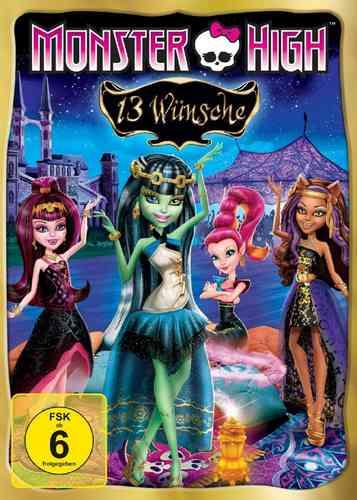 DVD Monster High 3 - 13 Wünsche  OVP & NEU