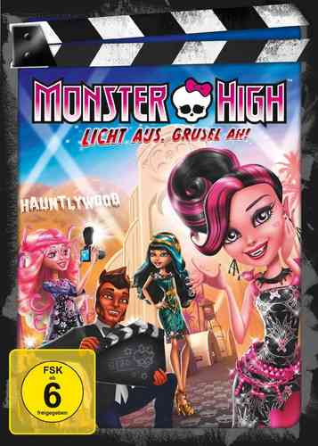 DVD Monster High 4 - Licht aus, Grusel an!  OVP & NEU