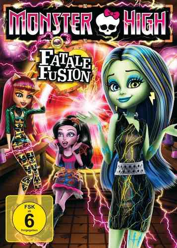 DVD Monster High 7 - Fatale Fusion  OVP & NEU