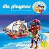 Die Playmos Hörspiel CD 001  1 Der Schatz der Teufelsinsel Playmobil Edel Kids NEU & OVP