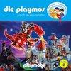 Die Playmos Hörspiel CD 002  2 Angriff der Drachenritter Playmobil Edel Kids NEU & OVP