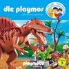 Die Playmos Hörspiel CD 003  3 Die Dinos kommen Playmobil Edel Kids NEU & OVP