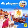 Die Playmos Hörspiel CD 005  5 Gefahr für Rom Playmobil Edel Kids NEU & OVP