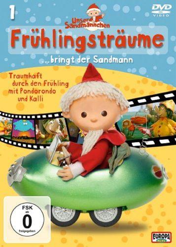 DVD Unser Sandmännchen 01  1 Frühlingsträume bringt der Sandmann TV-Serie OVP & NEU
