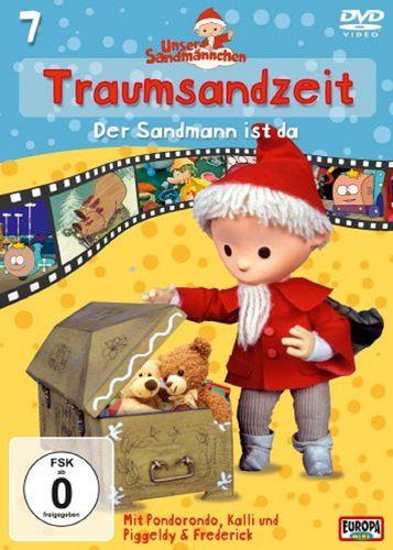 DVD Unser Sandmännchen 07  7 Traumsandzeit: Der Sandmann ist da  TV-Serie OVP & NEU
