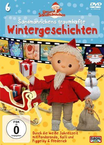 DVD Unser Sandmännchen 06  6 traumhafte Wintergeschichten TV-Serie OVP & NEU