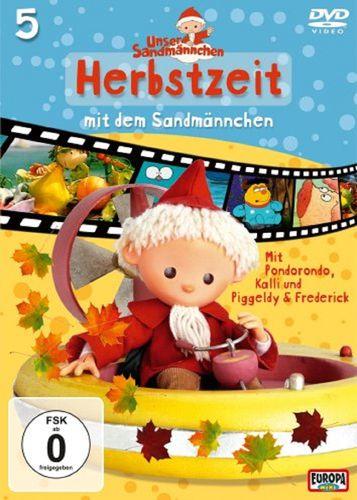 DVD Unser Sandmännchen 05  5 Herbstzeit mit dem Sandmännchen TV-Serie OVP & NEU