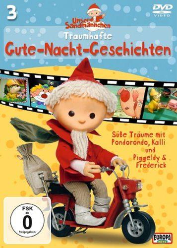 DVD Unser Sandmännchen 03  3 Traumhafte Gute-Nacht-Geschichten TV-Serie OVP & NEU