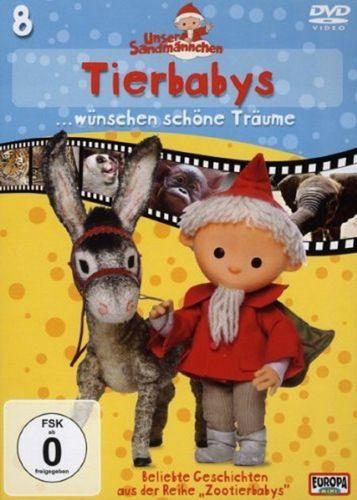 DVD Unser Sandmännchen 08  8 Tierbabys wünschen schöne Träume  TV-Serie OVP & NEU