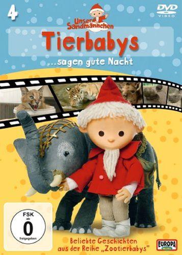 DVD Unser Sandmännchen 04  4 Tierbabys sagen gute Nacht TV-Serie OVP & NEU