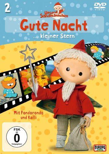 DVD Unser Sandmännchen 02  2 Gute Nacht, kleiner Stern TV-Serie OVP & NEU