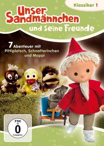 DVD Unser Sandmännchen Klassiker 01 1 Verrückte Abenteuer TV-Serie OVP & NEU