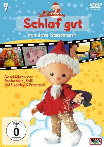 DVD Unser Sandmännchen 09  9 Schlaf gut mit dem Sandmann  TV-Serie OVP & NEU
