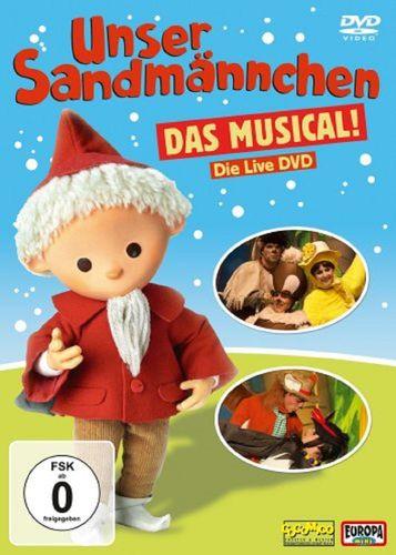 DVD Unser Sandmännchen Das Musical Live von 2009 OVP & NEU