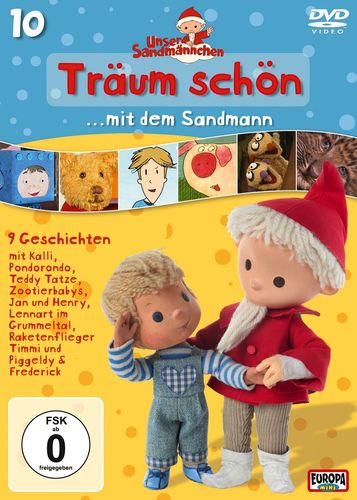 DVD Unser Sandmännchen 10 Träum schön mit dem Sandmann  TV-Serie OVP & NEU