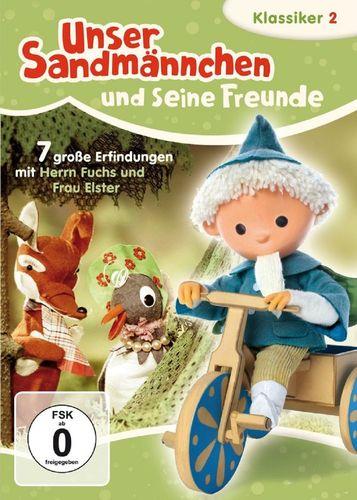 DVD Unser Sandmännchen Klassiker 02 2 Große Erfindungen TV-Serie OVP & NEU