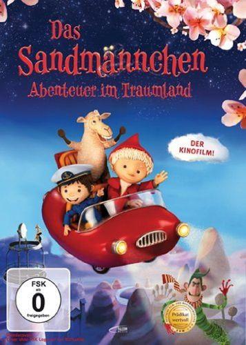 DVD Unser Sandmännchen 1. Kinofilm - Abenteuer im Traumland Film OVP & NEU