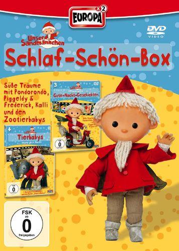 DVD Unser Sandmännchen Box 2 Schlaf-Schön-Box 4+5 TV-Serie 2x DVDs OVP & NEU
