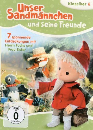 DVD Unser Sandmännchen Klassiker 06 6 Spannende Erlebnisse mit Fuchs TV-Serie OVP & NEU