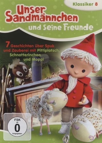 DVD Unser Sandmännchen Klassiker 08 8 Geschichten über Spuk und Zauberei TV-Serie OVP NEU