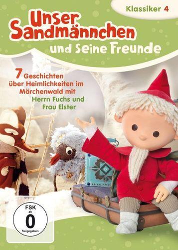 DVD Unser Sandmännchen Klassiker 04 4 Heimlichkeiten im Märchenwald  TV-Serie OVP & NEU