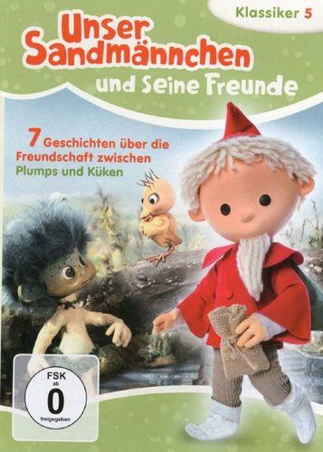 DVD Unser Sandmännchen Klassiker 05 5 Freundschaft zwischen Plumps und Küken TV-Serie NEU