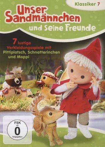 DVD Unser Sandmännchen Klassiker 07 7 lustige Verkleidungsspiele TV-Serie OVP & NEU