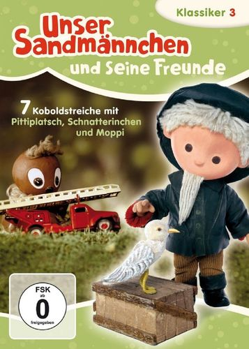 DVD Unser Sandmännchen Klassiker 03 3 Koboldstreiche  TV-Serie OVP & NEU