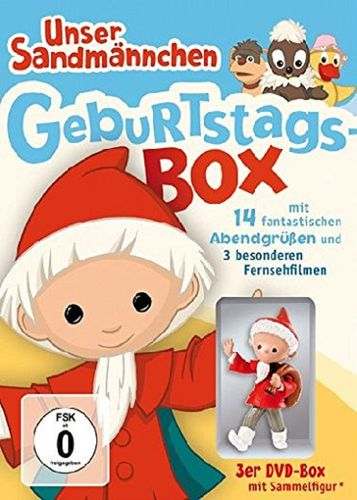 DVD Unser Sandmännchen Klassiker Geburtstags-Box 3x DVDs TV-Serie OVP NEU