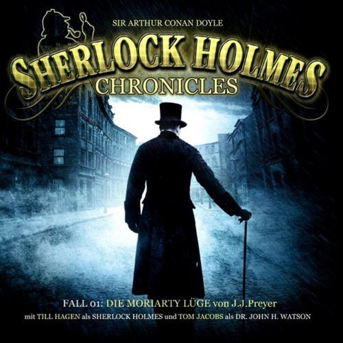 Sherlock Holmes Chronicles Hörspiel CD 001 1 Die Moriarty Lüge 2er Box NEU & OVP