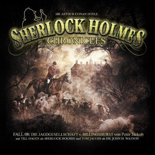 Sherlock Holmes Chronicles Hörspiel CD 008 8 Jagdgesellschaft von Billingshurst 2er Box NEU & OVP