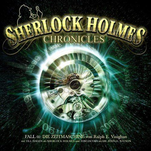 Sherlock Holmes Chronicles Hörspiel CD 002 2 Die Zeitmaschine 2er Box NEU & OVP