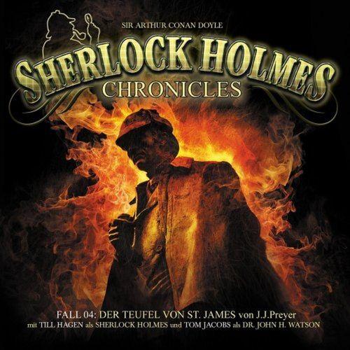 Sherlock Holmes Chronicles Hörspiel CD 004 4 Der Teufel von St. James 2er Box NEU & OVP