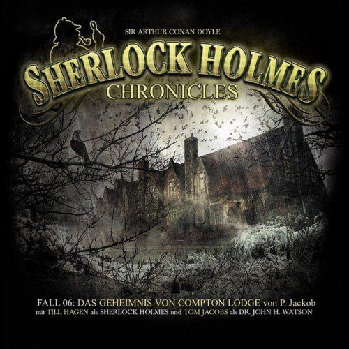 Sherlock Holmes Chronicles Hörspiel CD 006 6 Das Geheimnis von Compton Lodge 2er Box NEU & OVP