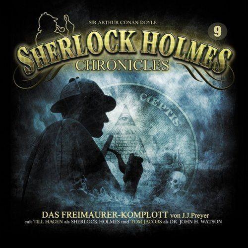 Sherlock Holmes Chronicles Hörspiel CD 009 9 Das Freimaurer-Komplott 2er Box NEU & OVP