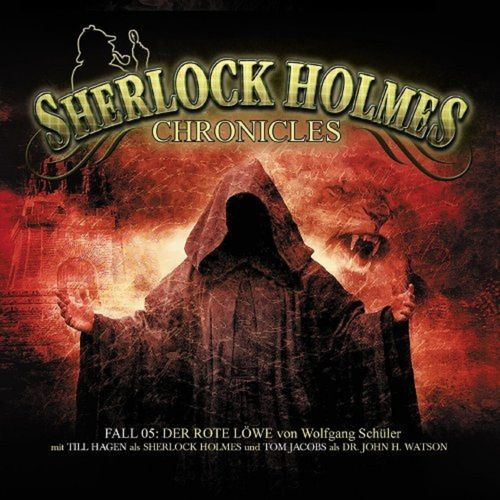 Sherlock Holmes Chronicles Hörspiel CD 005 5 Der rote Löwe  2er Box NEU & OVP