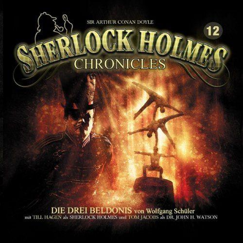 Sherlock Holmes Chronicles Hörspiel CD 012 12 Die drei Beldonis 2er Box NEU & OVP