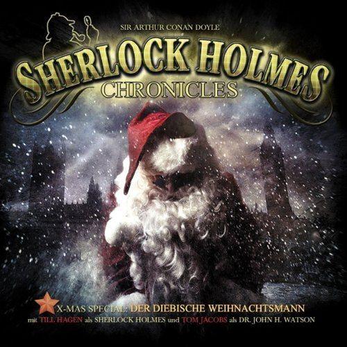 Sherlock Holmes Chronicles Hörspiel CD X-Mas 1 Der diebische Weihnachtsmann Spezial NEU & OVP
