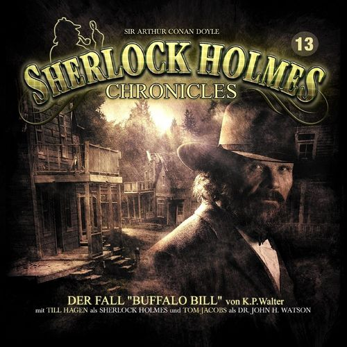 Sherlock Holmes Chronicles Hörspiel CD 013 13 Der Fall Buffalo Bill NEU & OVP